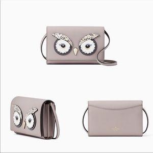 New Kate spade star owl Crossbody Bag Cute